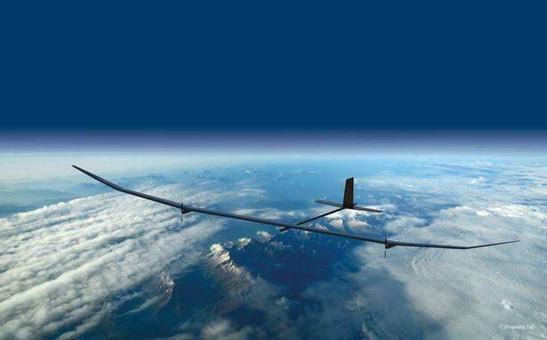 """""""BAE Systems"""" تطور الطائرة """"PHASA-35"""" التي تعمل على الطاقة الشمسية"""