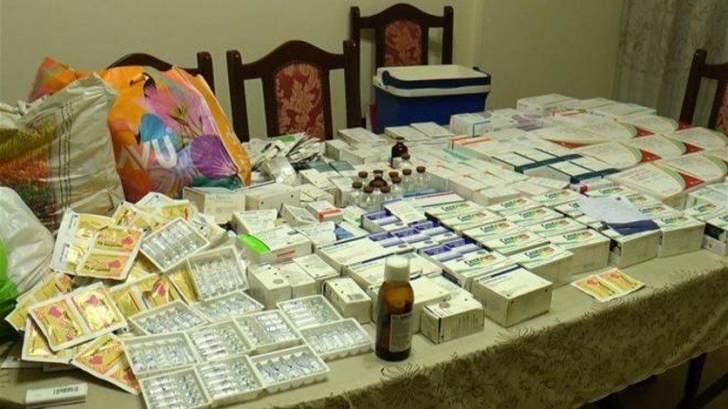 إحباط عملية جديدة لتهريب الأدوية وتوقيف المتورطين
