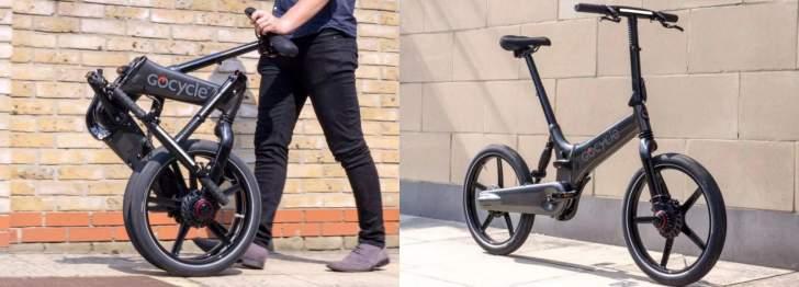 """""""gocycle"""" تقدم دراجة كهربائية جديدة سريعة الطي"""