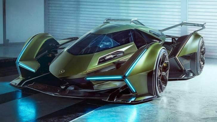 """""""لامبورغيني"""" تكشف عن نموذجها الجديد """"Lambo V12"""""""