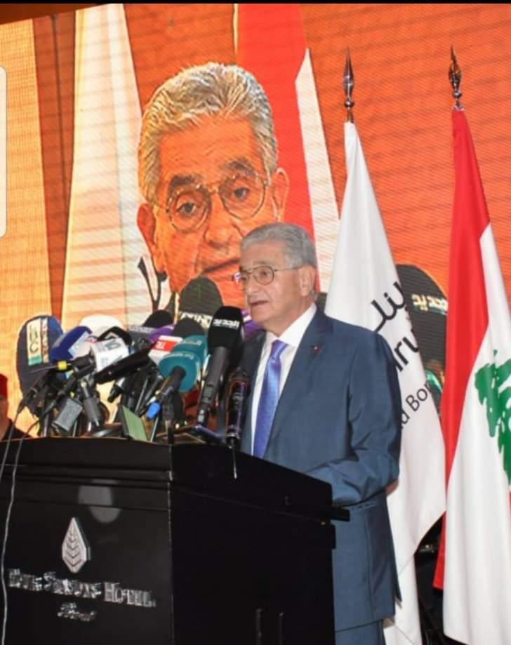 """مدير عام لـ""""بنك بيروت"""" خلال إفطار للإعلاميين: الاستمرار في استهداف القطاع المصرفي مُضرّ بالاقتصاد"""