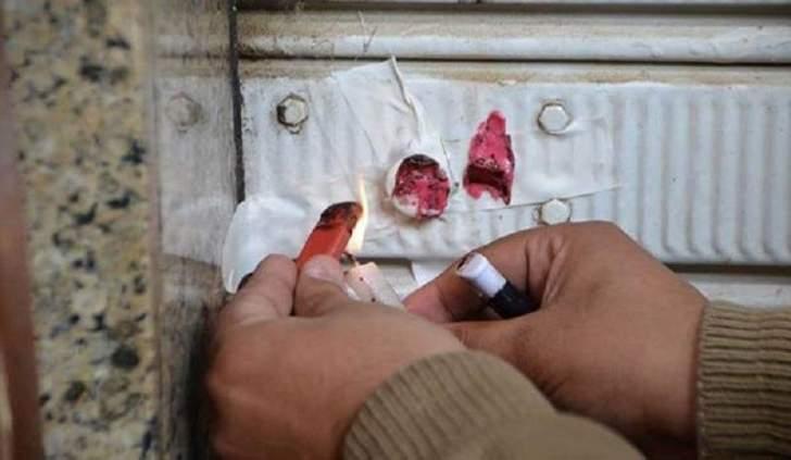 إقفال محلات لسوريين بالشمع الأحمر في العاقبيةلمخالفتهم نظام الإقامة والعمل