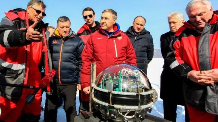 إطلاق أكبر تلسكوب للكشف عن جزيئات النيوترينو يعمل من أعماق بحيرة البايكال الروسية