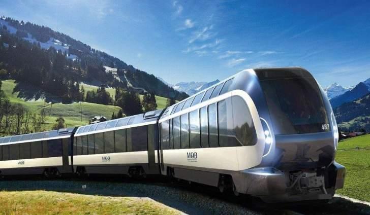 """""""Pininfarina""""تصمم قطار """"Goldenpass Express""""الجديد في سويسرا"""
