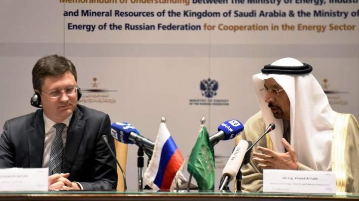 وزيرا الطاقة الروسي والسعودي لم يناقشا في اجتماعهما آليات سعر النفط