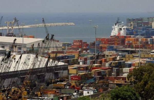 تراجع حركة الشّحن العام عبر مرفأ بيروت بنسبة 1.23% في 2017