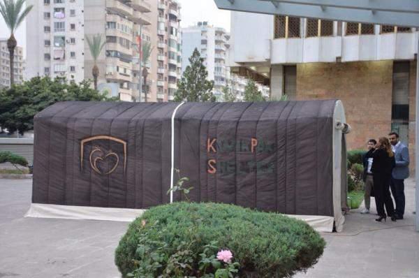 """KwikPak Shelter"" .. مشروع لبناني جديد من اجل لاجئي العالم !!"