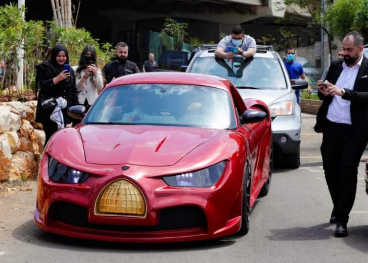 """""""القدس رايز"""".. أول سيارة كهربائية لبنانية الصُنع"""