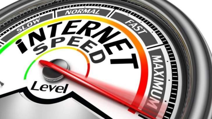 لبنان يحتلالمرتبة 195عالمياً والـ14عربياً من حيث سرعة الإنترنت ذات الحزمة العريضة