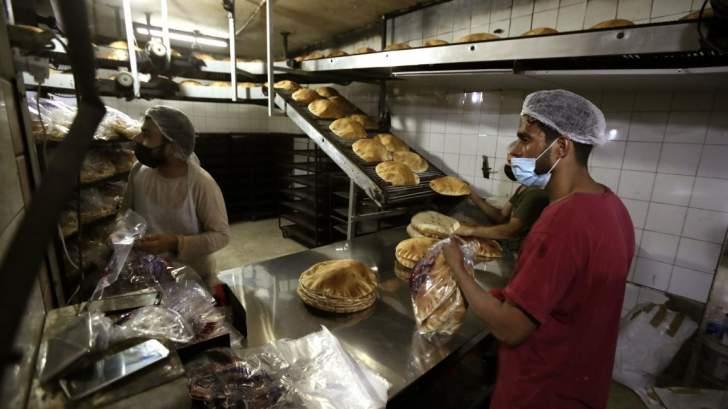 نقابة عمال المخابز في بيروت وجبل لبنان تطالب بإلغاء قرار إنقاص وزن ربطة الخبز