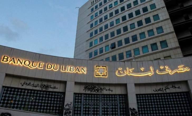 """تقرير: الإحتياطيات التي لا تزال متاحة بـ""""مصرف لبنان"""" قد يجري الإبقاء عليها لـ6 أشهر أخرى"""