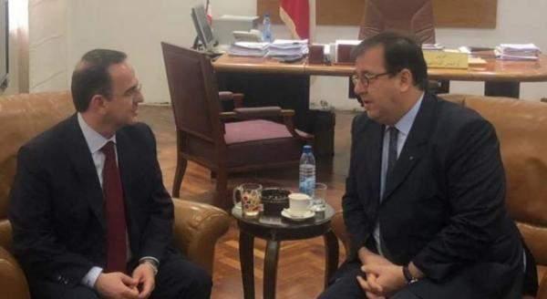 كيدانيان خلال لقائه السفير الفرنسي: اتفقنا على ضرورة اظهار الصورة الجميلة للبنان من خلال ثقافته وتراثه العريقين