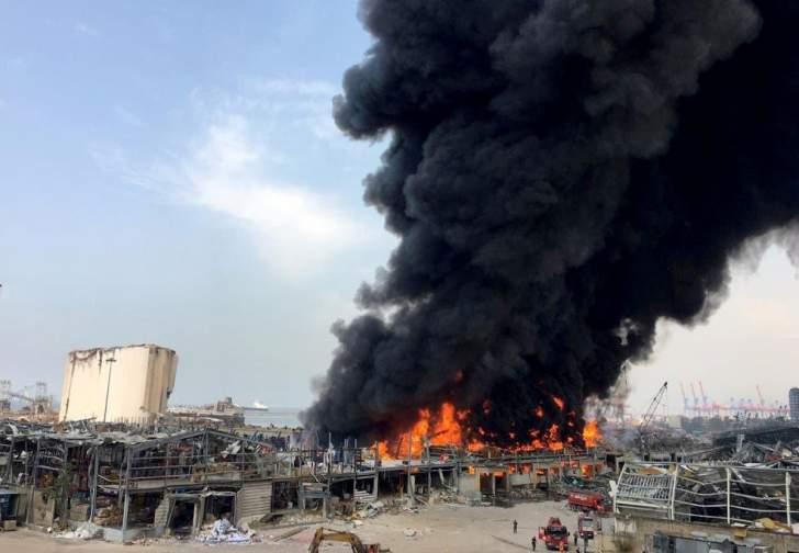 القاضي أبو حيدر ادعى على المشتبه بهم بقضية حريق المرفأ