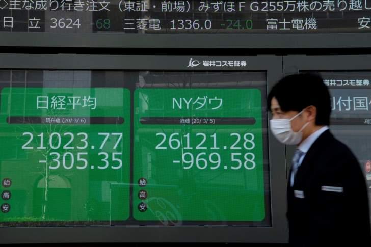 الأسهم اليابانية تغلق على تراجع وتسجل خسائر للجلسة الثانية على التوالي