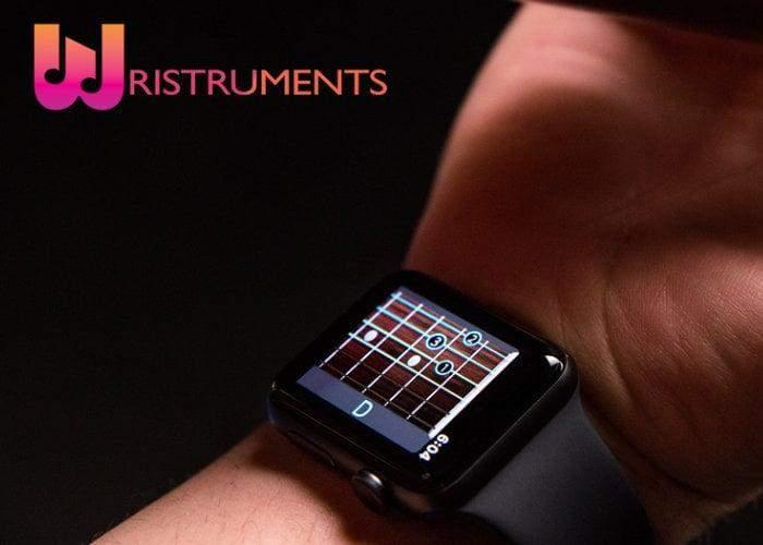 """""""Wristruments""""تطبيق يتيح تعلم الغيتار من خلال الساعةالذكية"""