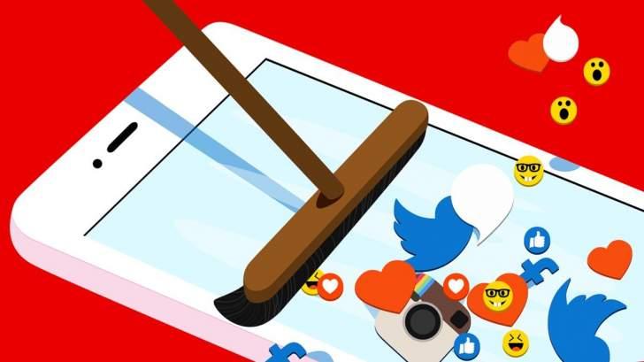 كيف تنظف شبكات التواصل الاجتماعي؟