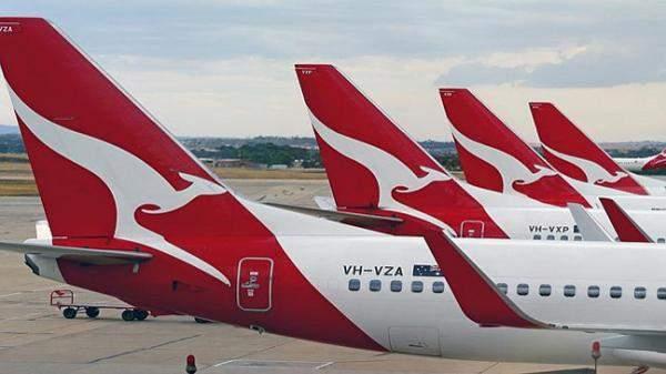 """""""كانتاس"""" الأسترالية تخسر 71 مليون دولار بسبب الإغلاق المحلي"""