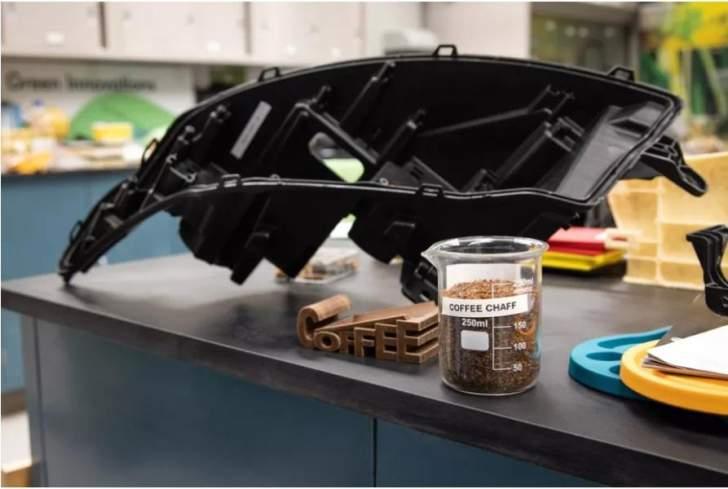 """""""فورد"""" تخطط لإعادة تدوير مخلفات القهوة لتصنيع قطع غيار السيارات"""