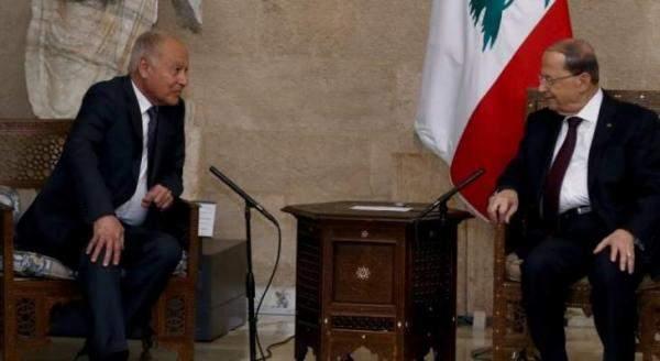 عون خلال استقبال أبو الغيط: شكلنا لجنة لمتابعة تنفيذ قرارات القمة الاقتصادية