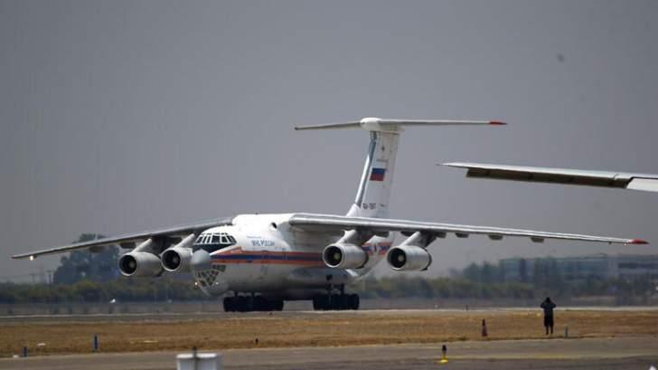 رابع طائرة مساعدات إنسانية روسية تصل إلى لبنان
