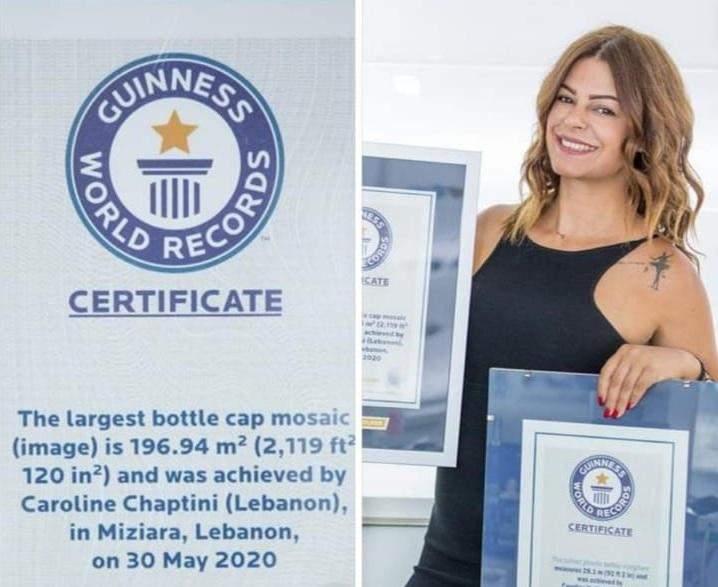 """""""امرأة غينيس"""" اللبنانية.. كسرت رقمين قياسيين عالميين وتتجه لإنجاز جديد"""