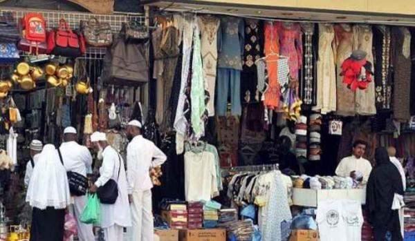 2.5 مليار دولار قيمة واردات السعودية من الملابس في 2018