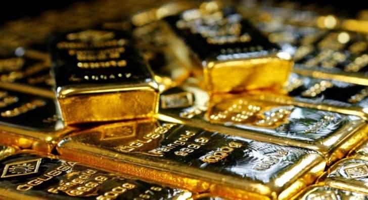 الذهب متراجعاً  بنحو 1.1% عند 1949.90 دولار للأوقية