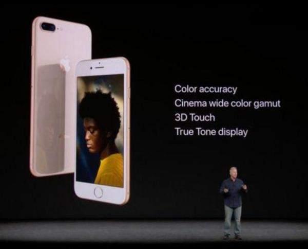 """مؤتمر """"آبل"""": """"آيفون 8"""" بلون وزجاج في الأمام والخلف مع كاميرا أكثر دقة"""