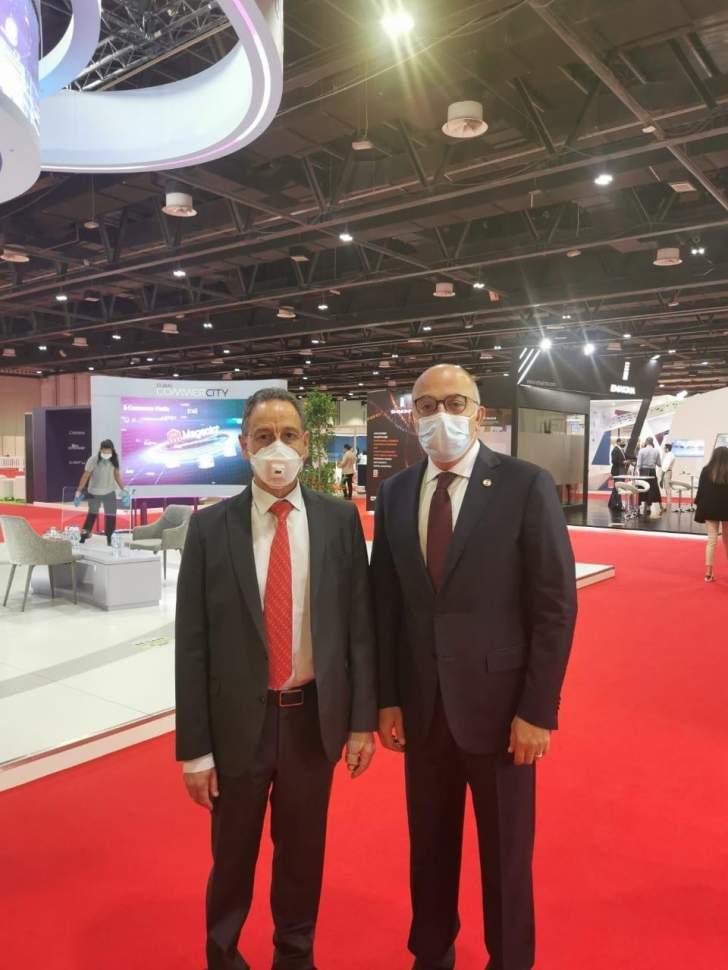 نعمه يشارك في فعاليات مؤتمر ومعرض تكنولوجيات الاقتصاد الرقمي في دبي