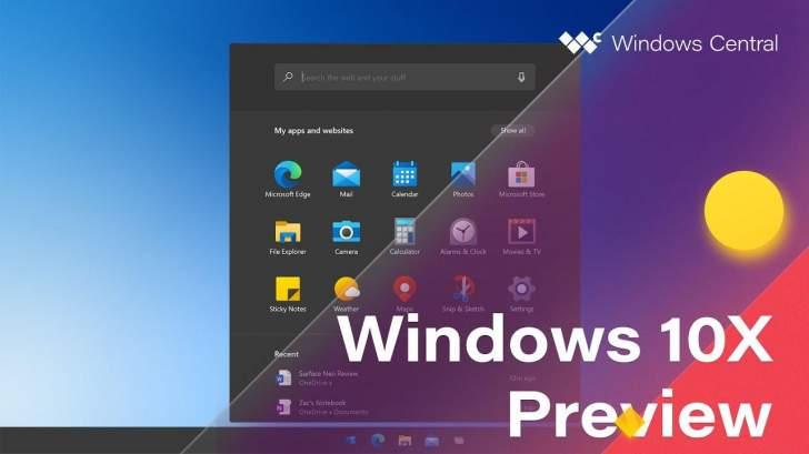 """""""مايكروسوفت"""" تستعد لإطلاق """"ويندوز 10X"""" الجديد في بداية 2021"""
