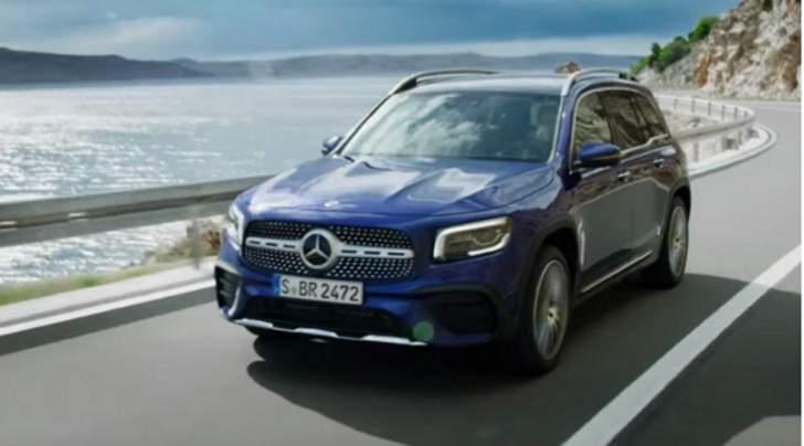 """""""مرسيدس"""" تطلق النموذج الجديد كليا من سيارات """"GLB"""" الكروس اوفر العائلية"""