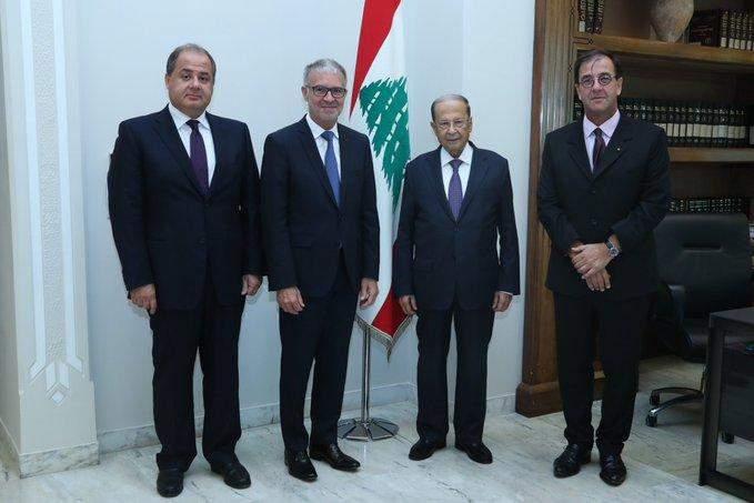 التقرير اليومي 17/9/2019: الرئيس عون: التعاون بين المجلسين الإقتصاديين اللبناني والفرنسي يطور الأداء