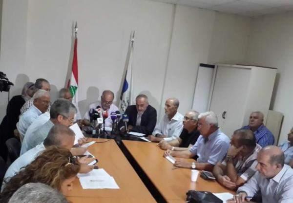 هيئة التنسيق أعلنت الاضراب الاثنين: نطالب الرئيس بتوقيع قانون السلسلة