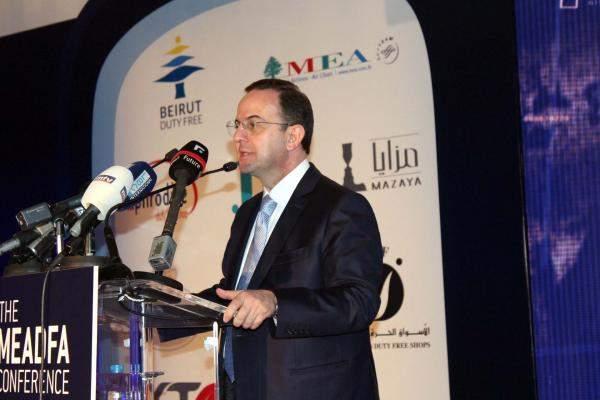 """كيدانيان ممثلا الحريري في مؤتمر """"منظمة الأسواق الحرة"""": هذا دليل على أننا الوجهة السياحية الاولى لهذا النوع من الأحداث"""
