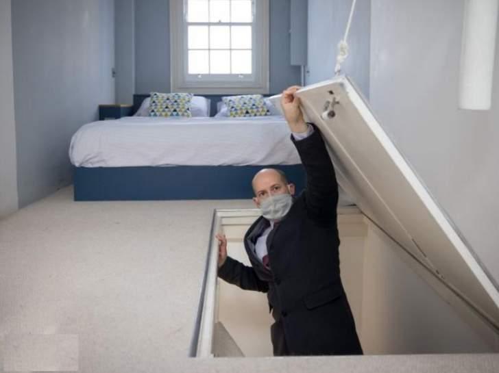 عرضه1.7 متر... أضيق منزل في لندن للبيع بسعر مثير للفضول!