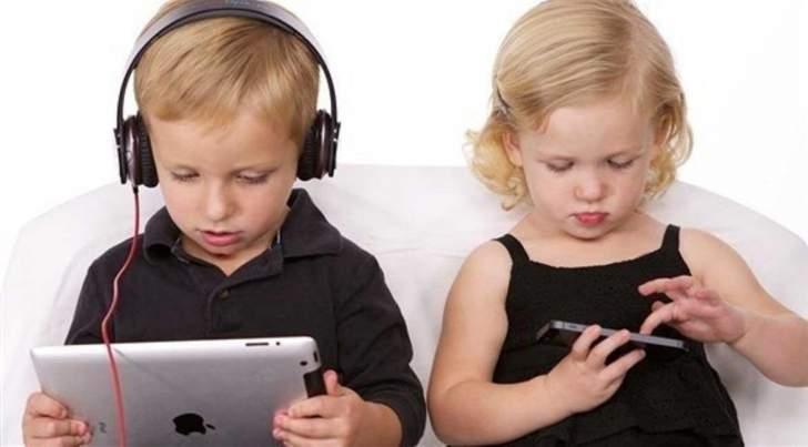 تعرف الى الوقت الموصى به لاستخدام الأطفال الأجهزة الالكترونية