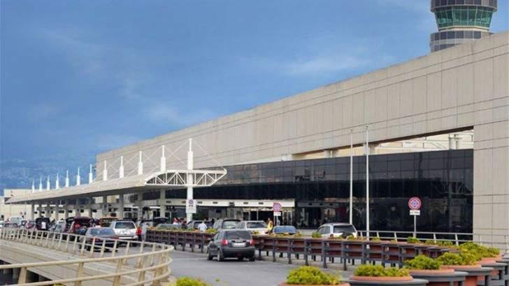 تراجع حركة مطار بيروت لشهر تشرين الثاني 2019 بنسبة 30 %