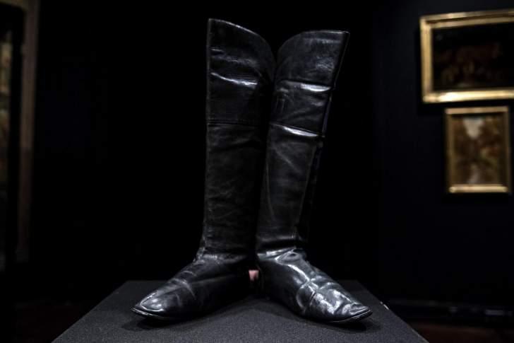 80 ألف يورو قيمة حذاء نابليون بونابرت