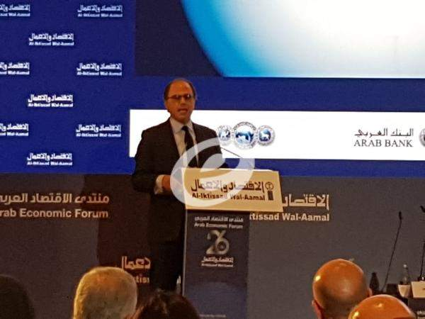 ازعور في منتدى الاقتصاد العربي: يجب اعادة تصميم سياسة المالية العامة