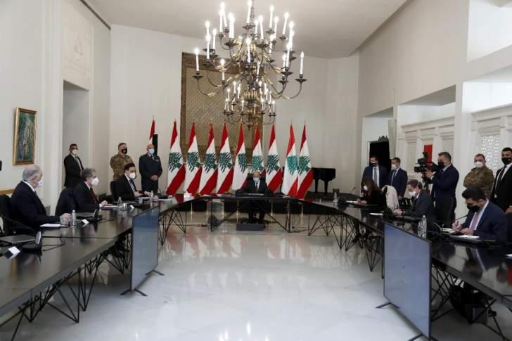 دياب في اجتماع المجلس الأعلى للدفاع: تمديد الإغلاق حتّى 8 شباط مع السعي لزيادة عدد الأسرّة في المستشفيات