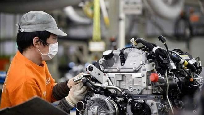تحسن نشاط قطاع التصنيع في اليابان خلال الشهر الحالي