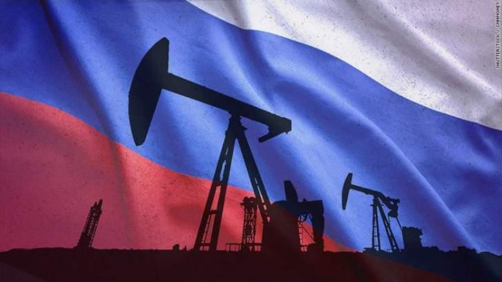 ارتفاع إنتاج روسيا من النفط ومكثفات الغاز خلال نيسان