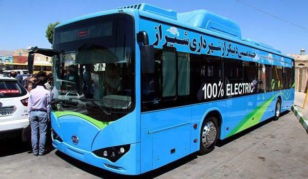 إيران تبدأ بتنفيذ مشروع لتصنيع حافلات تعمل بالكهرباء