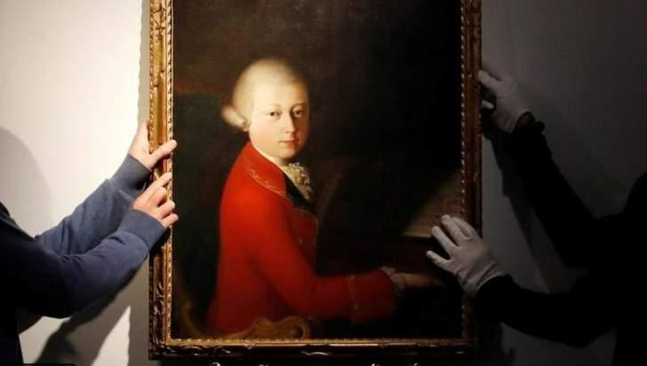 بيع لوحة نادرة للموسيقار موتسارت... وسعرها يفوق التوقعات!