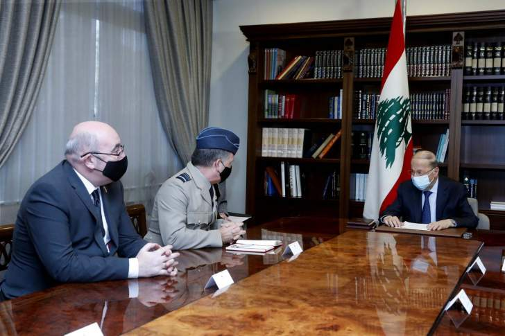 الرئيس عون: تحقيق الإصلاحات ومتابعة مسألة التدقيق الجنائي ستكون من أولى مهام الحكومة الجديدة