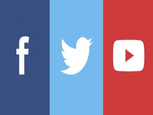 """الكونغرس يوجه أسئلة لـ""""فيسبوك"""" و""""تويتر"""" و""""يوتيوب"""" حول إيقاف الحسابات"""