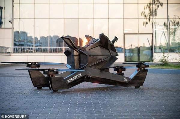 150 ألف دولارسعر الدراجة الطائرة الذكية المستخدمة من قبل شرطة دبي