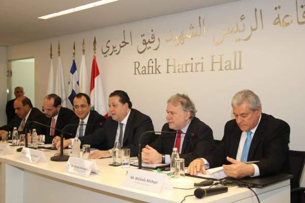 شقير خلالمنتدى اعمال لبنانيقبرصييوناني يؤكد علىأهمية زيادة التعاون بين الدول الثلاث