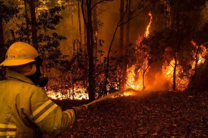 """حملة تبرعات على """"فيسبوك"""" تجمع 32 مليون دولار لإخماد حرائق الغابات في أستراليا"""