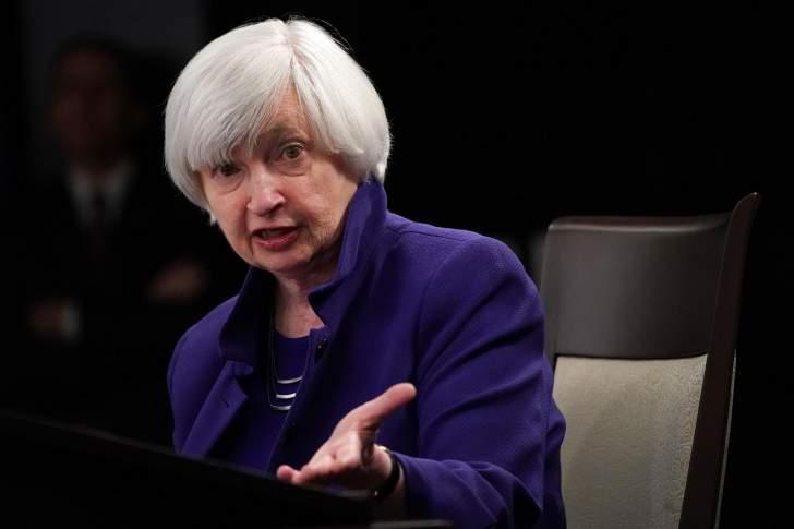 جانيت يلين: معدلات الفائدة قد ترتفع لكبح جماح تسارع النمو الاقتصادي